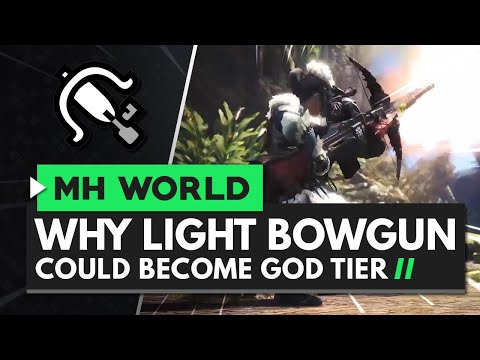Monster Hunter World Iceborne | Why Light Bowgun Could Be God Tier
