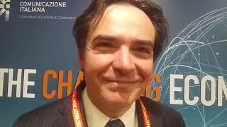 Youtube: Intervista a Giuseppe Conte (INPS) - Forum Economy Roadshow Roma