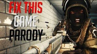Gambar cover Fix This Game (Parody) - Battlefield 4 Music Video