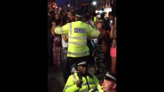 Hey Mr Policeman Down to the Floor London
