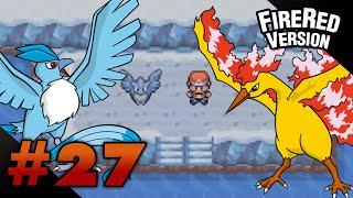 Articuno  - (Pokémon) - Let's Play Pokemon: FireRed - Part 27 - ARTICUNO & MOLTRES
