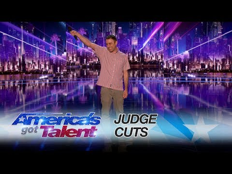 Eric Jennifer: Make Some Noise for this Hilarious Performance - America's Got Talent 2017