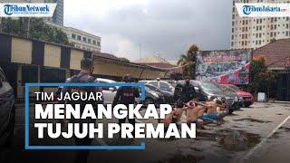 Sering Palak Pengendara di Putaran Balik Margonda, 7 Preman Dibekuk Tim Jaguar