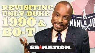 Revisiting UNLV-Duke 1990 #BEATEMDOWN and BO-T: World's Flashiest Back-up QB - Bomani and Jones thumbnail