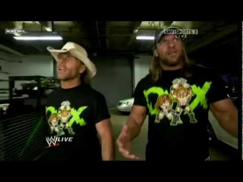 DX returns to RAW (Legacy Attack) (видео)
