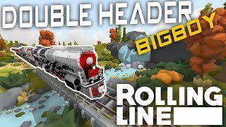 Two Big Boys! - Swiss Summer- Rolling Line Vr Toy Train Simulator - Map