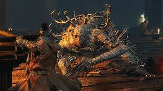 Sekiro: Shadows Die Twice - Long-arm Centipede Sen'un Boss Fight