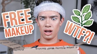 GETTING ILLEGAL SUBSTANCES SENT TO ME?! FREE MAKEUP BEAUTY GURUS GET