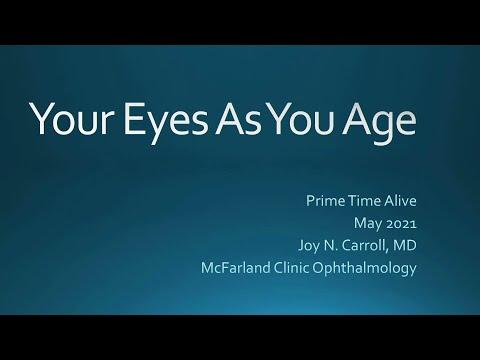 Patologiczne stany związane z oczami u starszych