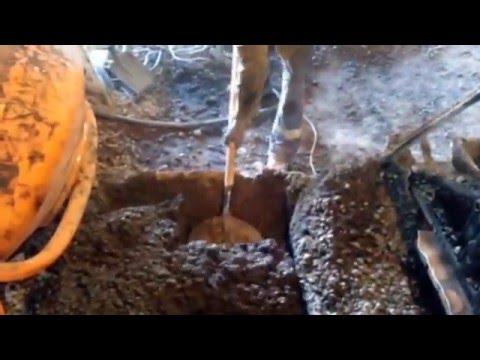 Расход керамзитобетонной смеси на один блок