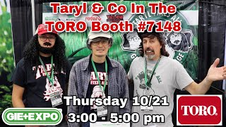 Taryl & Co @ 2021 GIE Expo in Louisville, KY (10/20 - 10/22)