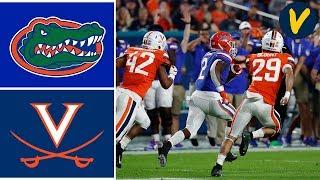 #9 Florida Vs #24 Virginia Highlights | 2019 Orange Bowl Highlights | College Football