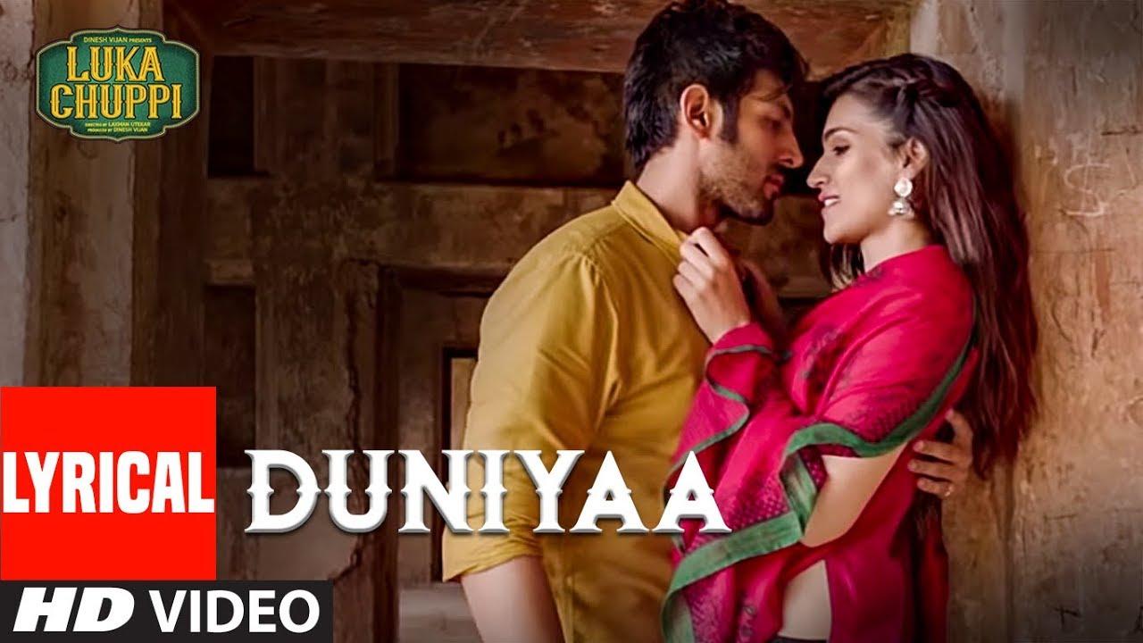 Luka Chuppi Duniyaa Lyrics | Akhil & Dhvani Bhanushali Lyrics