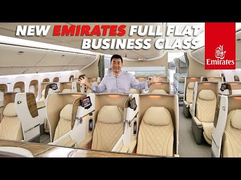 Emirates B777 NEW BUSINESS and ECONOMY Class Complete Review