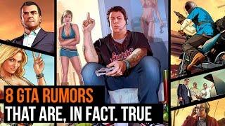 8 GTA Rumors that are in fact true