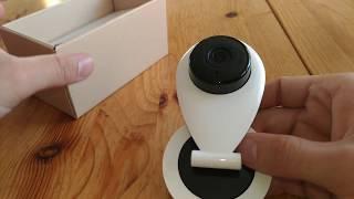 HiKam S6 IP Überwachungskamera HD für Smartphone/PC Nachtsicht, Gegensprechfunktion, WLAN, Webcam