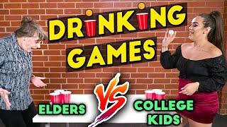 Can Elders Beat College Kids At Beer Pong?