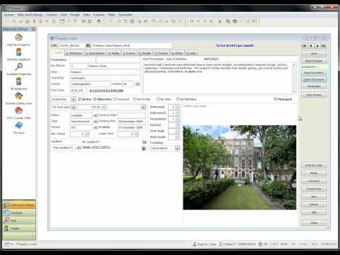 How to upload particulars & window cards to websites in pdf in PCHomes Estate Agent Software