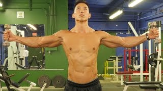 Extreme Monster Shoulder Workout by Six Pack Shortcuts & Abs After 40
