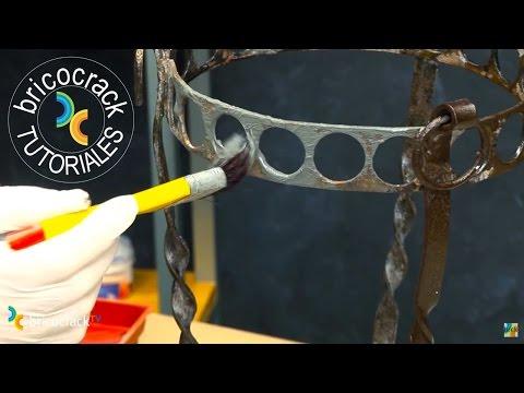 Trucos para pintar hierro y aluminio (Bricocrack)