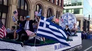 The 2016 Chicago Greek Parade (Sun, April 17, 2016)