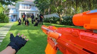 Nerf War: Rich Kids vs Thieves 2 (First Person Shooter)