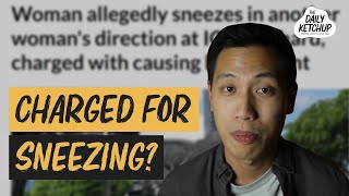 A Woman Got Charged For Sneezing? | The Daily Ketchup April 23, 2020