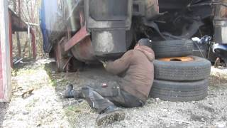 preview picture of video 'Dieseltank vom Schrottplatz'