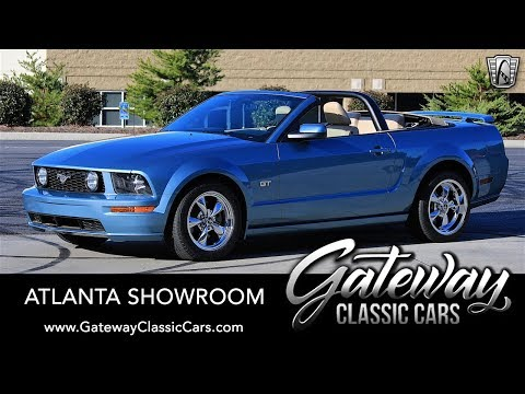 2005 Ford Mustang GT Convertible - Gateway Classic Cars of Atlanta #1331