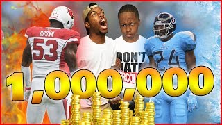 A Million Coins Up For Grabs BIGGEST Wager Of The Year! - MUT Wars Ep.57