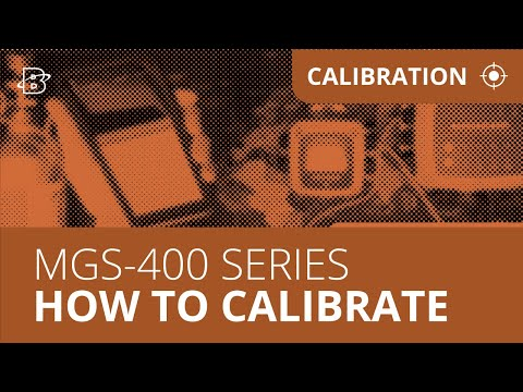 MGS-400 Series | How to Calibrate