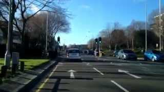 preview picture of video 'Driving Around Preston Lancashire UK'