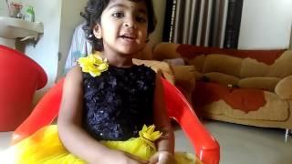 Cute Girl Singing 'Neeti Lona Musali' - Vemana Padhyam - Viral Baby