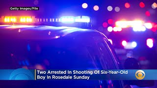 Two Arrested In Shooting Of Six-Year-Old Boy In Rosedale