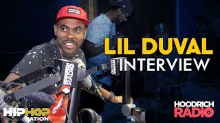 Lil Duval Talks Smile B*tch, Merging Comedy & Music, Leaving The Hood & More on Hoodrich Radio