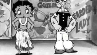 Popeye and Betty Boop Hula dance