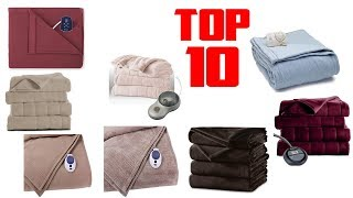 Top 10 Best Selling and Top Rated Electric Blanket Reviews 2020