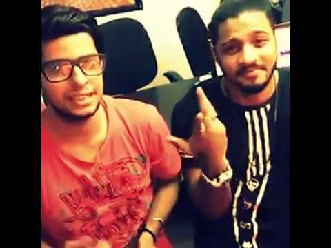Raftaar, RJ Yuvi, Madhur Dhir- Radio City