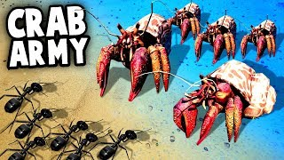 Download Youtube: GIANT CRABS vs ARMY ANTS! Invasion! (Empires of the Undergrowth Gameplay - EotU)