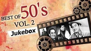 Best of 50's Hindi Songs (HD) - Jukebox 2   - YouTube