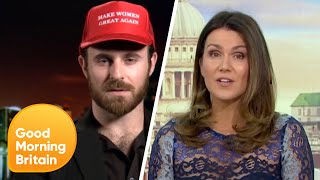 Man Charges $1,000 to Help Make Women Great Again | Good Morning Britain