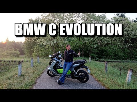 BMW C Evolution Electric Scooter (ENG)  – Test Drive and Review