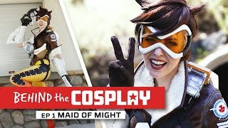 Overwatch Tracer Cosplay By Maid Of Might - HyperX Behind The Cosplay