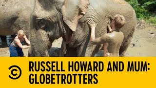 Becoming An Elephant Masseuse | Russell Howard and Mum: GlobeTrotters