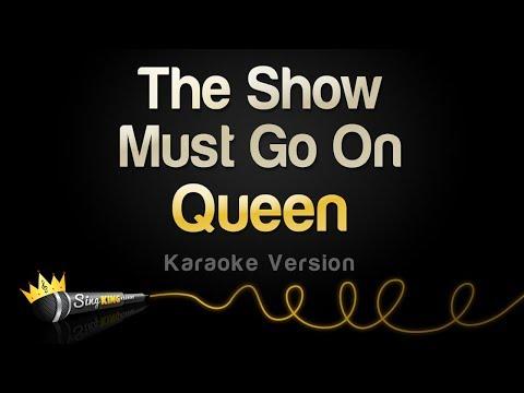Queen - The Show Must Go On (Karaoke Version)