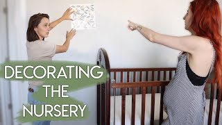 DECORATING OUR BABY NURSERY!