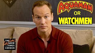 Aquaman or Watchmen Character? w/ Patrick Wilson