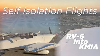 RV Aircraft Video - Flying into an International Airport