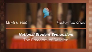 Click to play: Panel II: The Freedom of Religion [Archive Collection]