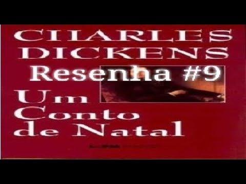 Resenha #9 - Um Conto/Cântico de  Natal (A Christmas Carol) do Charles Dickens - MDL